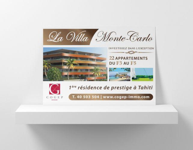 Affiche Résidence Monte-Carlo